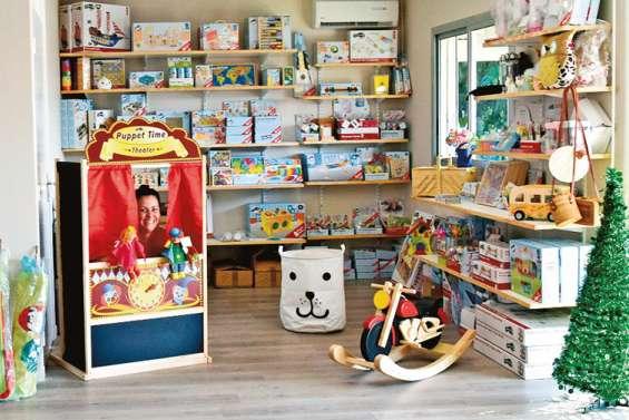 Le magasin Les p'tites canailles a ouvert juste avant Noël