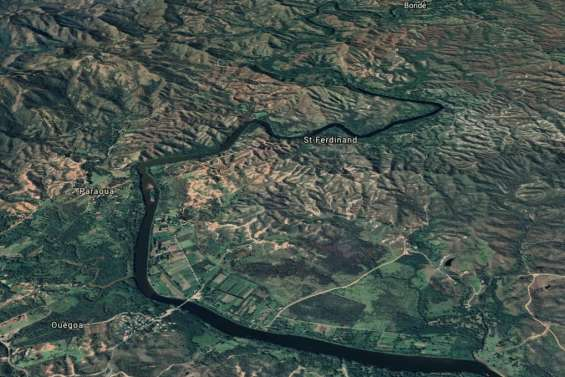 Ouégoa : l'incendie est maîtrisé, les flammes ont détruit 18 hectares de végétation