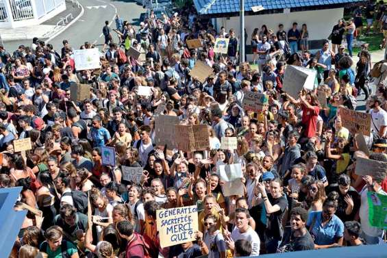 Le sursaut de la jeunesse face à l'urgence climatique