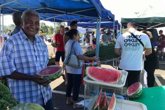 Le marché broussard de Païta devient hebdomadaire