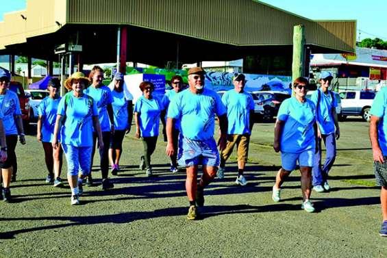Ils ont marché pour la Ligue contre le cancer