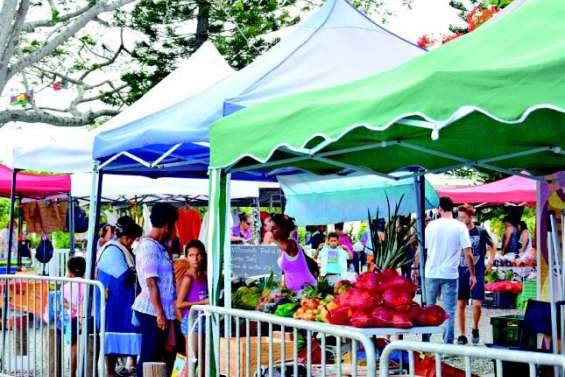 Un marché spécial igname, samedi