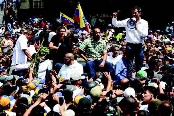 Guaido annonce une marche sur Caracas