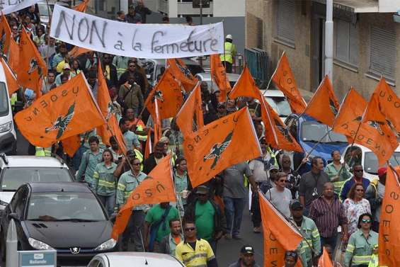 [VIDÉO] Vale NC : l'Usoenc défile pour « soutenir les emplois »