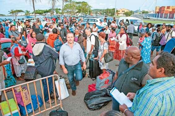 180 personnes ont regagné Maré samedi, à bord du Betico