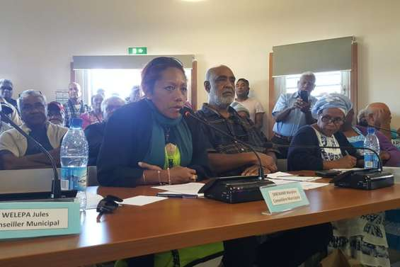 Marilyne Sinewami est élue maire de Maré