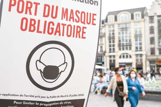 En France, les anti-masques peinent à sortir de l'ombre