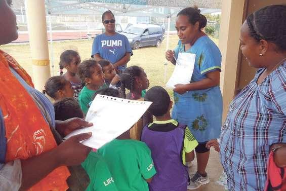 Neuf écoles maternelles s'affrontent avec le sourire