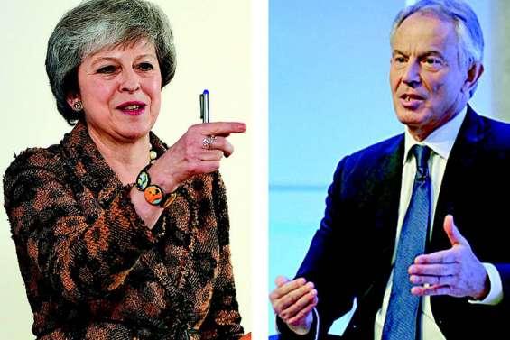 Brexit : Theresa May et Tony Blair s'écharpent publiquement