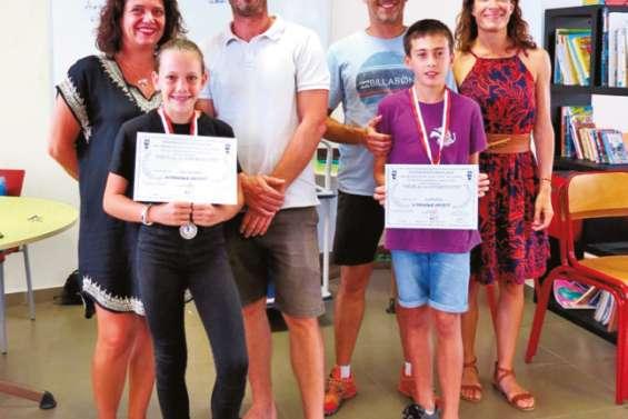 Médaille d'argent pour trois élèves méritants