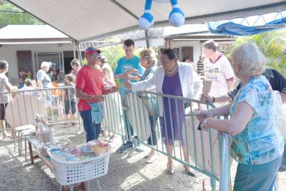 Convivialité et solidaritéà la kermesse de l'Acapa