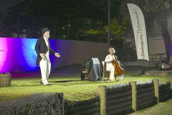 Les spectacles des Illuminés du bagne ont fait sensation à l'île Nou