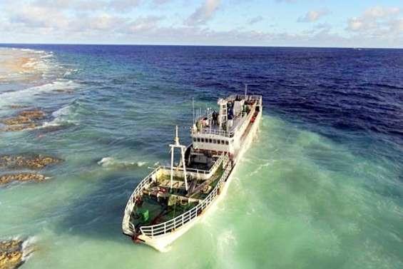 Nouvelle mission sur l'épave à Anuanurunga
