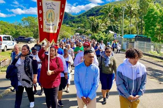 Des milliers de fidèles réunis à La Conception