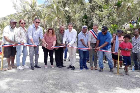 La Foa : un nouveau pont pour se rendre aux tribus de Koindé etde Oui-Poin