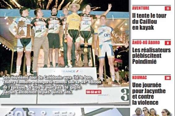2014 : Ataï parmi les siens, colère acide à Goro et Fondère vainqueur du Tour