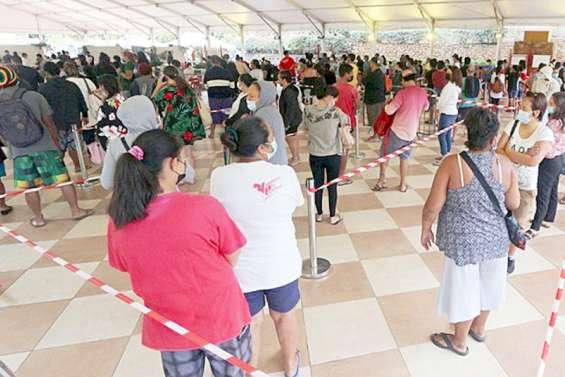 Covid : à Tahiti, des tests en série