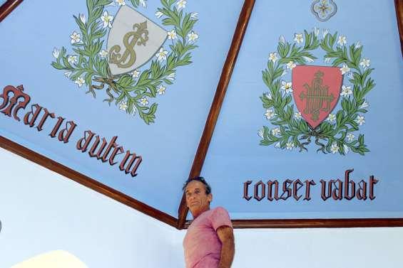 La chapelle de la cathédrale Saint-Joseph retrouve son plafond d'origine