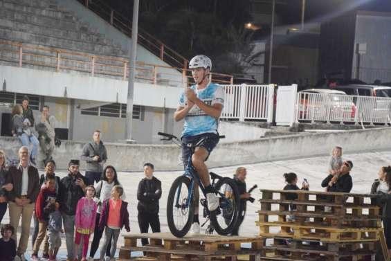 Nicolas Fleury impressionne le vélodrome