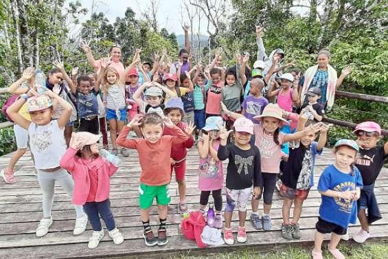 Une semaine riche en activités pour les enfants de Boulouparis