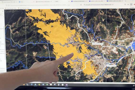 Des incendies du Var au séisme à Haïti: les cartographes de l'urgence