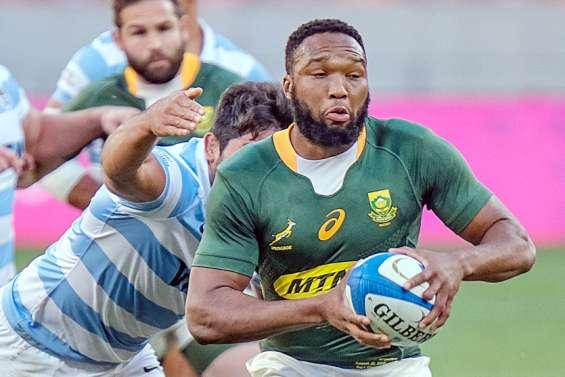 Rugby : l'Afrique du Sud domine encore l'Argentine