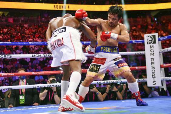Manny Pacquaio battu