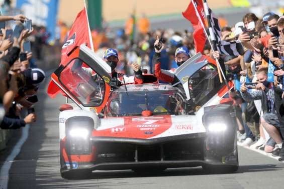 24 Heures du Mans : la Toyota numéro7 brise la malédiction auMans
