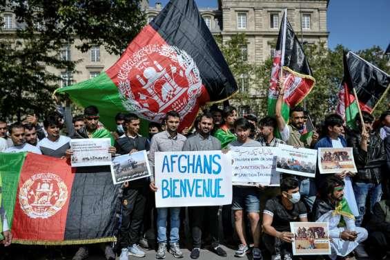 «Afghan lives matter», «sauvez notre famille»