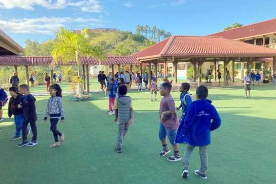 Païta : une rentrée normale à l'école Les Scheffleras