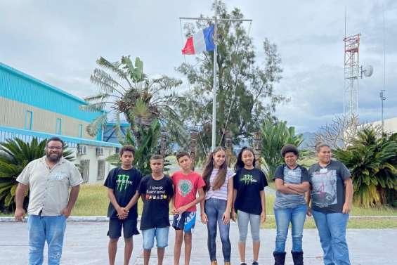 Sept volontaires en immersion sur la base aérienne 186
