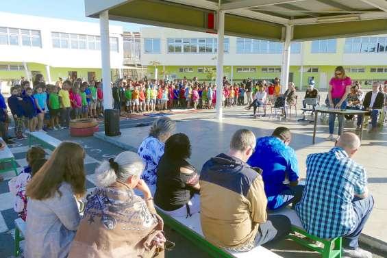 L'école Téari a consacré sa journée à saluer la mémoire de Catherine Brinon