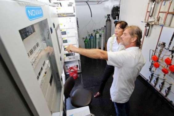 Oxygène: arrivages deNouvelle-Calédonie, de France et de Nouvelle-Zélande