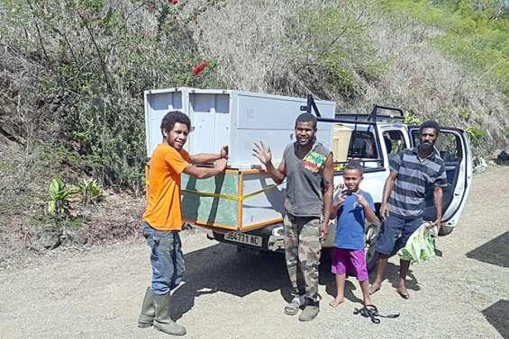 Canala : l'internat provincial a fait don de son mobilier réformé