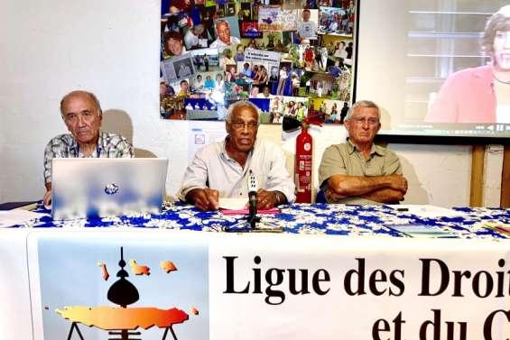 Elie Poigoune donne le relais à la tête de la Ligue des droits de l'Homme