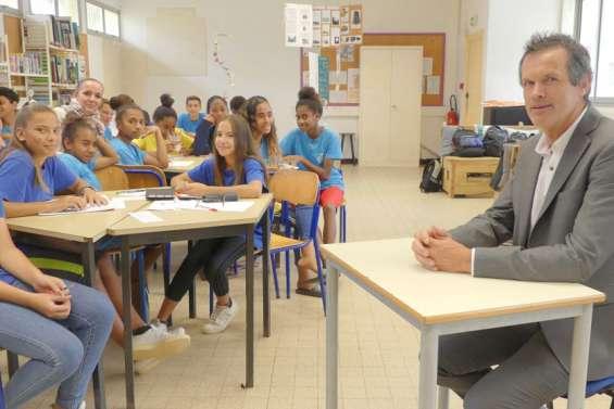 «Les relations humaines avec les élèves et les adultes sont très importantes»