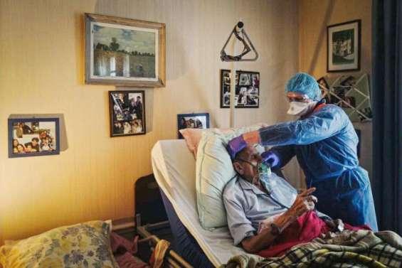 Covid: des centaines d'oxygénations à domicile