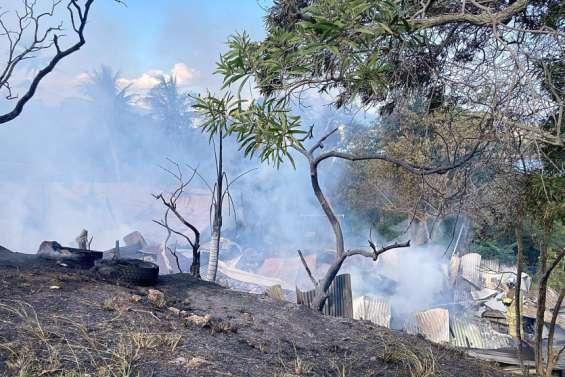 Faubourg-Blanchot: l'incendie a été maîtrisé par les pompiers
