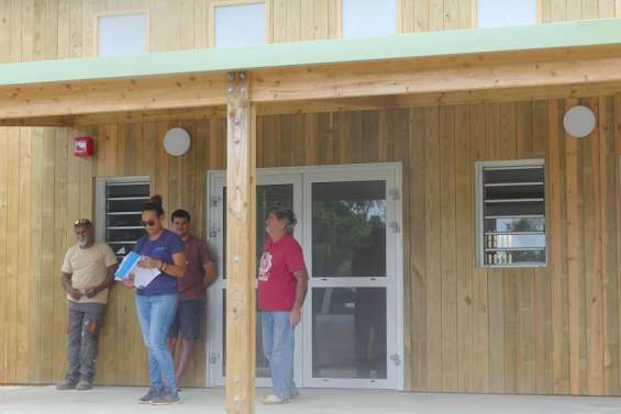Un nouveau foyer socio-éducatif livré à la tribu de Saint-Gabriel