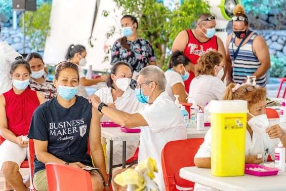 Covid: la Polynésie au défi de la barre des 70% de vaccinés