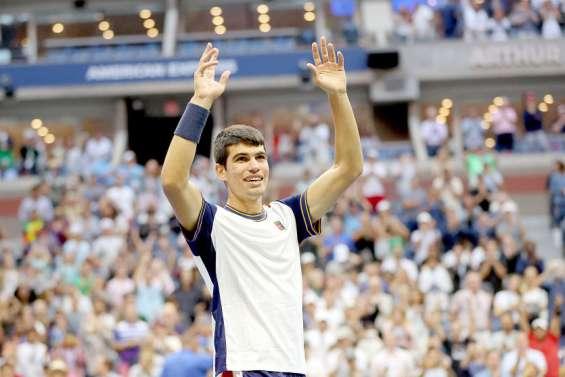 US Open de tennis : Carlos Alcaraz, l'éclosion d'une pépite
