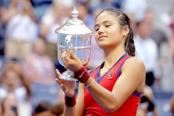 Raducanu, première joueuse issue des qualifications à gagner un Grand Chelem