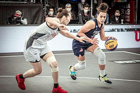 Basket-ball: Soana Lucet sur le podium au Trocadéro