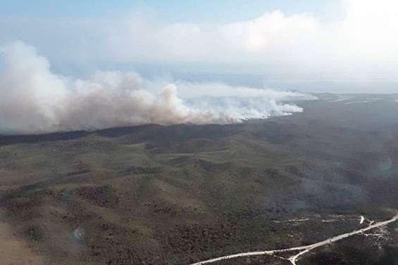 Plus de 1000 hectares brûlés à Poum, le plan Orsec 2 activé