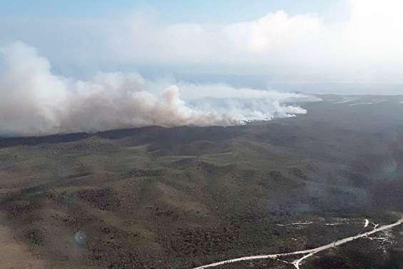 Poum: plus 1300 hectares de végétation détruits