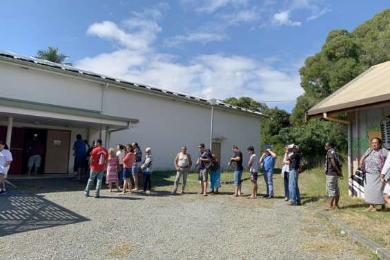 Le centre de vaccination de Bourail est délocalisé au Colisée