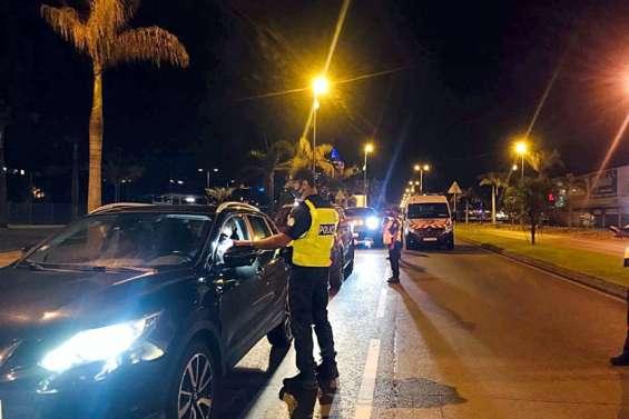 [MàJ] À Nouméa, 17 contraventions dressées pour non-respect du couvre-feu