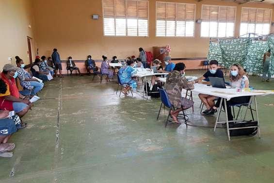 Les vaccinations se poursuivent à Poya
