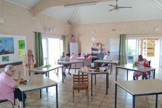 Le centre de retraite des Kiwanis en vase clos à La Foa