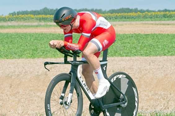 Rayann Lacheny, 20 ans, cycliste :